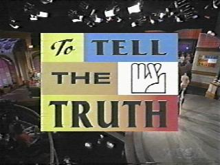 To Tell The Truth Logo